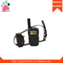Waterproof dog electronic shock training collar with remote, dog beeper collar