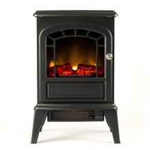 """15"""" Portable Electric Fireplace w/1500W Space Heater"""