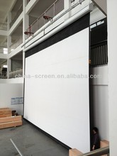 """300"""" projector screen/large outdoor projection screens/electric screen"""