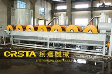 Plastic polyethylene terephthalate washing and recycling production machine