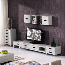 High glossy painted lcd tv stands