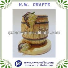 resina mini barril de vinho decoração presentes