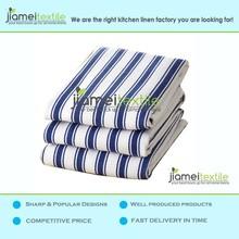Cotton Chunky Stripe Kitchen Towels Bulk