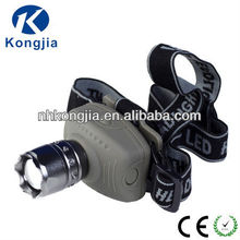 3 Watt Cree Q5 Aluminum LED Headlamp with rechargeable Battery