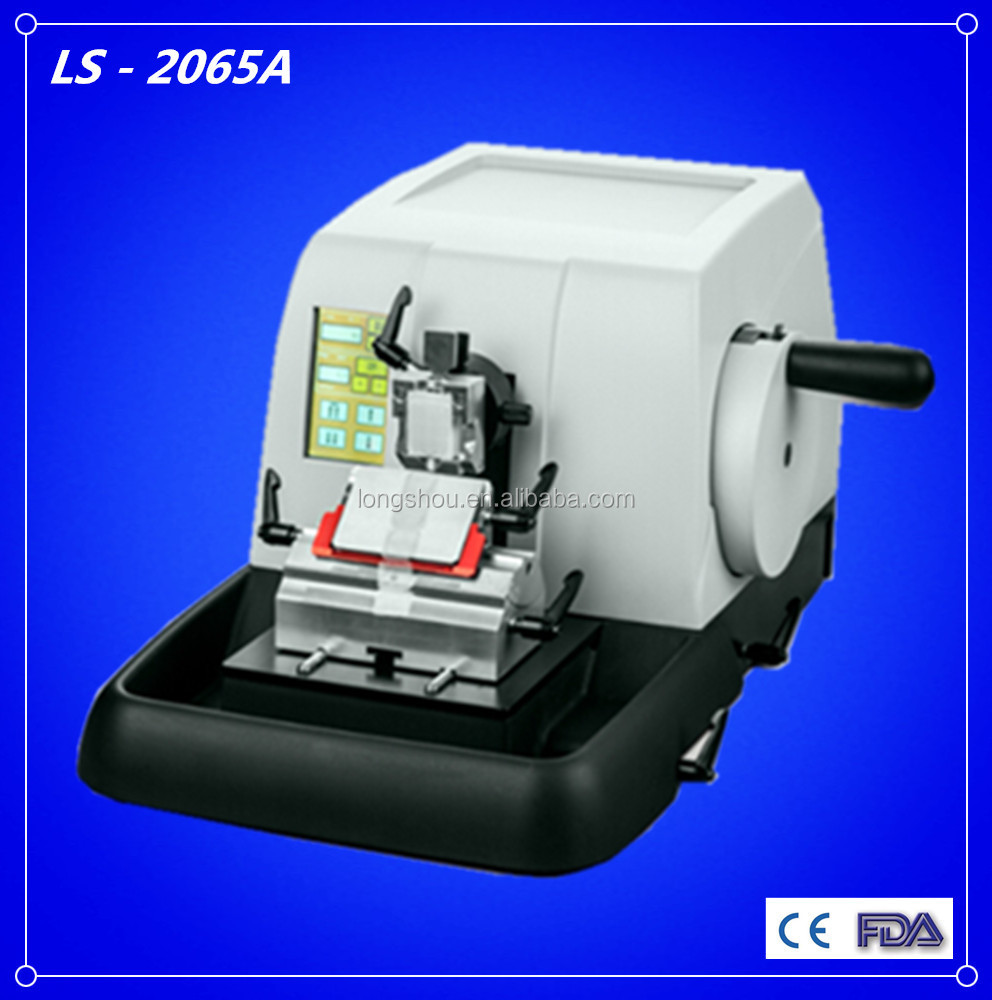 Electronic Lab Instruments : Electronic laboratory equipment semi auto rotary microtome