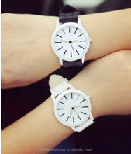 2015 China manufacture beautiful and eco-friendly silicone jelly watch
