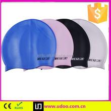 waterproof swimming cap silicone funny design