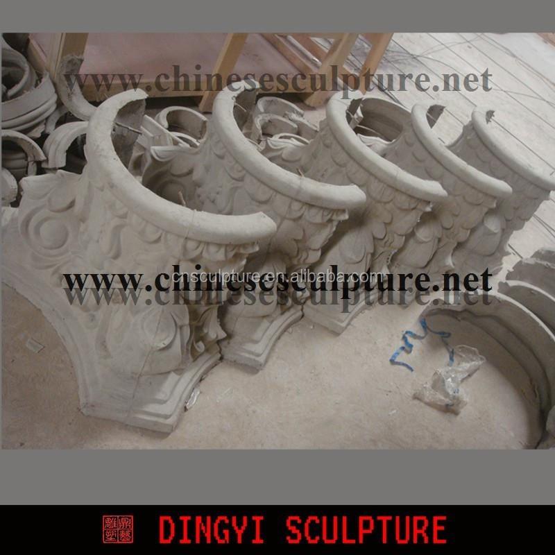 GRC moulding,roman pillar for building decoration