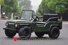 800W Mini Willys Jeep-Classical US Army Style.