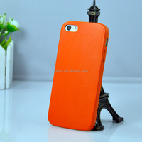 2014 Low MOQ Wholesale PU Leather Ultra Thin Back Cover Case for iPhone 5/5S