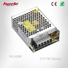 60W 24V LED dc power supply new products on china market with CE ROHS KC certification