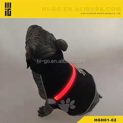 Reflective Hunting Jacket Dog Coat Safety Mesh Vest Harness/Flashing Light LED Dog Harness Collar / LED Pet Leash