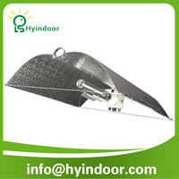 Adjustable-A-wing/aluminum light fixture reflectors /600 watt hps grow lights aquarium greenhouse lamp bamboo lampshade