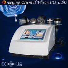 Portable 5 head pieces cavitation lipo laser weight loss machine