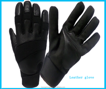 China import Working leather gloves for wearing resistant impact Skin tight Leather motorcycle gloves