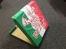 custom 11 inch pizza box/excellent printed pizza box with logo