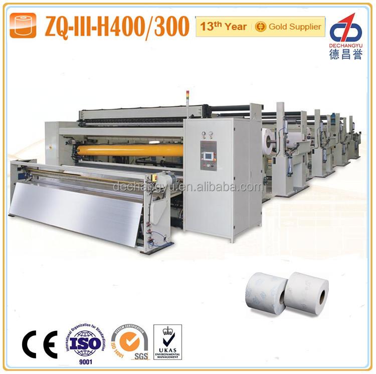 zq iii h400 enti rement automatique toilettes papier fabrication machines machinerie de. Black Bedroom Furniture Sets. Home Design Ideas