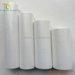 LDFE/hdpe recycled palstic flat bags on roll wholesale