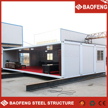 economical affordable pu panel steel container house