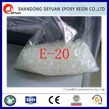 semi-solid bisphenol-A Epoxy Resin for solvent based anticorrosive paint E-20