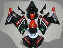 Fairing kit for YAMAHA R6 08-09 2008 2009 motorcycle bodywork,Customer painting acccepted