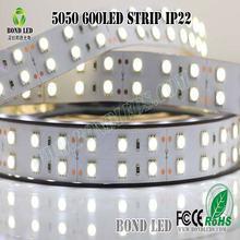 Favorites Compare DC12V SMD 5050 60/m warm white color IP65waterproof LED Flexible strip .2700K strips light, led