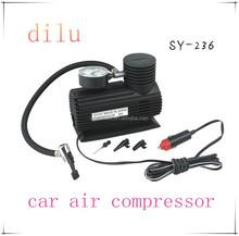 Factory supply 12A mini car air compressor,12V portable mini air compressor,19MM*1 cylinder 250/300 psi silent air compressor