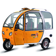 3 wheel cheap elcetric car for passangers for sale YuFeng in China