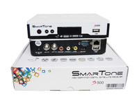Hot selling full hd 1080p satellite tv receiver smartone s500 support free iks&sks&twin tuner in stock
