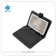 "7"" tablet case wired keyboard"