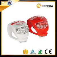 Popular accessories for bicycles cheap silicone led bicycle light