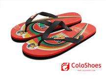 Coface rainbow beach walk rubber slippers