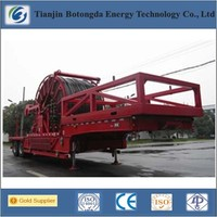 2014 hot sale stainless steel coiled tubing unit