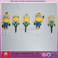 Hot sale promotion toys, new plastic toys despicable Me minions toys