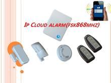 Cloud based home burglary alarm system-IP cloud alarm
