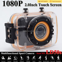 Excellent quality latest action shot camera mounted on