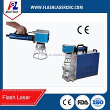 10W fiber portrait laser marking on iPhone cases/fiber laser marking photos on iPhone cover