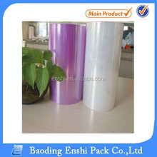 Food safety colour PE food wrap film jumbo roll /food plastic wrap jumbo roll