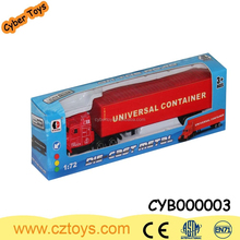 Wholesales 1:72 scales toys with small cars die cast truck model