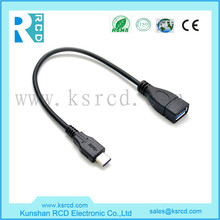 High Speed usb 3.1 data cable Type C to Standard-A Receptacle Adapter OTG cable for new Macbook, Chromebook Pixel, Nokia N1
