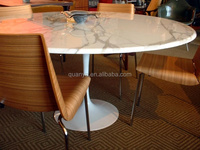 Classic Tulip Oval Dining Table for Dining Room