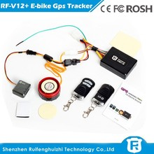 Vehicle GPS tracker for E-bike with web-based tracking software
