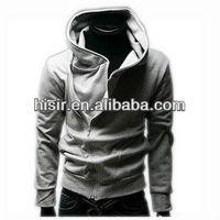 Mens Promotion Classic Zipper Hoody Sweatshirt Outerwear Korean Slim Style Hoodies 5 Colors 5 Sizes 1303-A15