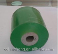 High quality PVC stretch wrap film for wire&cable green color