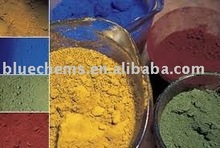 Raw materials for paint making Iron oxide top quality