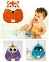 owl cartoon pattern baby stuff storage bags cute buggy bags for bathing room kids hanging storage bags