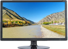 24 inch LCD monitor 1920*1200 resolution VGA for desktop or Wall mounted pos ,professional LCD monitor