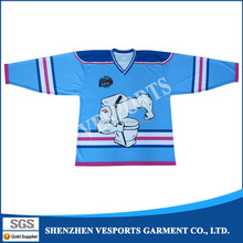 Cheap wholesale blank hockey jerseys