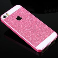 sale Shining Case Cover For iphone5 5S Sale Beautiful Brillant Paillette PC Phone Protector with logo Back Cover in stock
