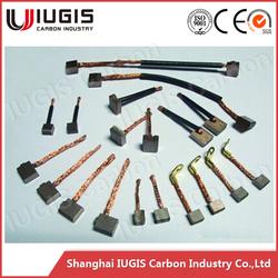 Carbon brush for Motorbike parts auto starter motor